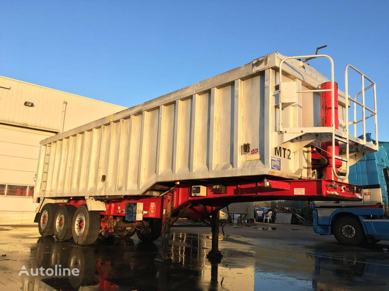 Weightlifter Tipper 43m3 Getreidetransporter Auflieger