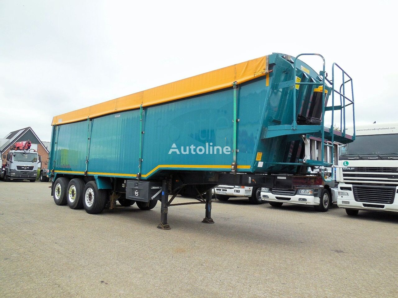 Weightlifter Tipper 51m3 - alu + steel chassis Getreidetransporter Auflieger