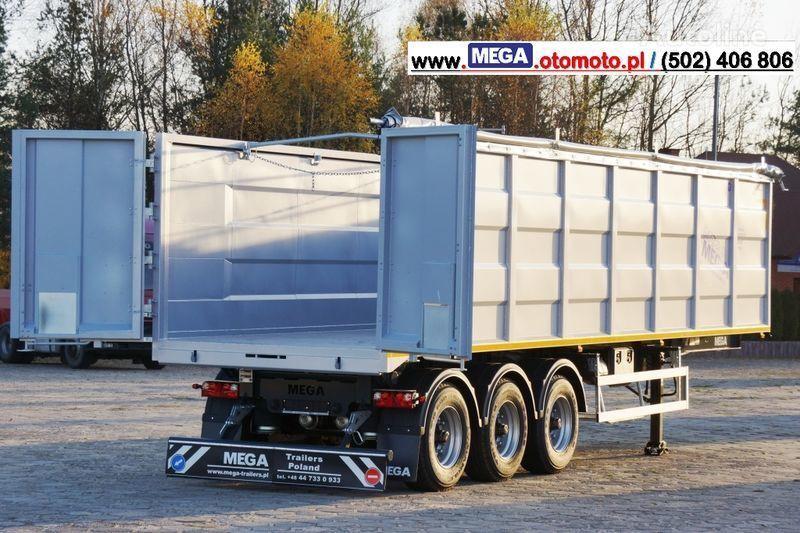 neuer MEGA 10,4 M(L) / 50 M³ DOMEX/OPTIM 650 TIPPER - SCRAP DOOR - READY ! Kippauflieger