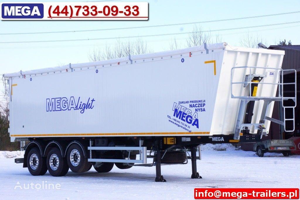 neuer MEGA 10,4 m / 60 M³ ALUM TIPPER SUPER LIGHT 6,2 T ! READY & NEW ! Kippauflieger