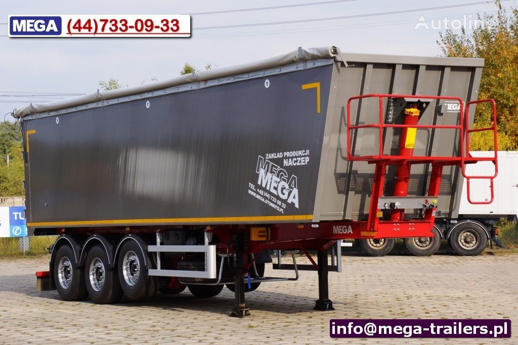 neuer MEGA NEW LIGHT PLUS << Hatch door - READY 45-50 m³ >> Kippauflieger