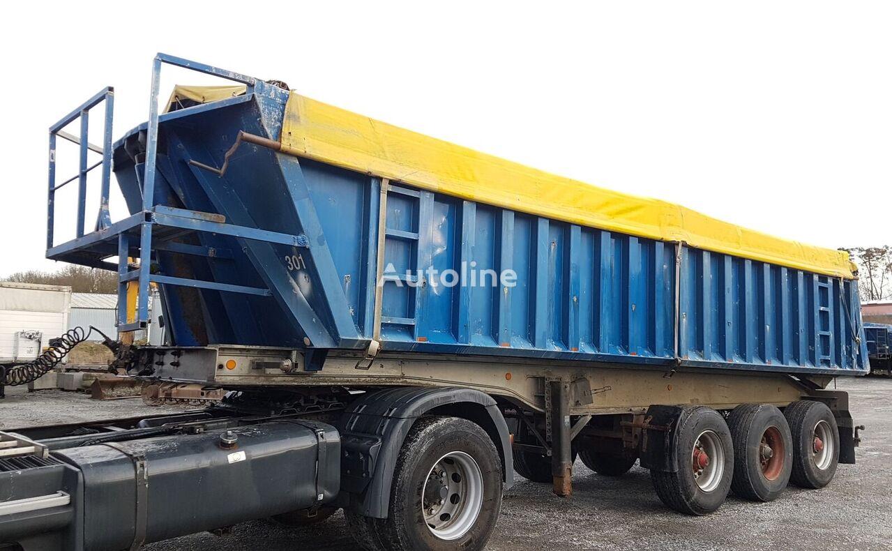TRAILOR S343LB Alu/Alu Blatt 27m³ 301 Kippauflieger
