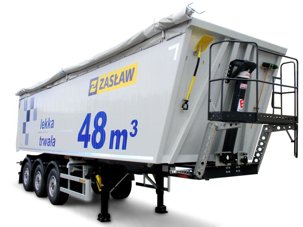 neuer ZASLAW TRAILIS ALUMINUM TIPPER NW.90.21.AKD.S Kippauflieger