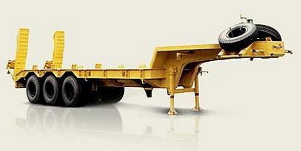 neue MAZ 937900-010 Plattform Auflieger