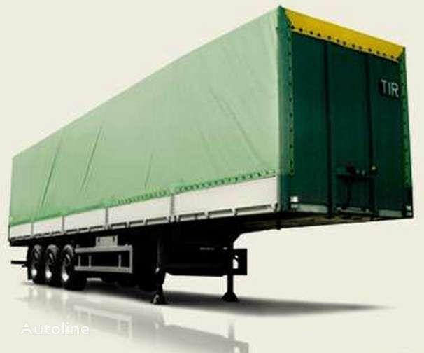 neue MAZ 975800 Plattform Auflieger