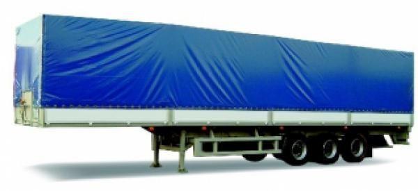neue MAZ 975830 Plattform Auflieger