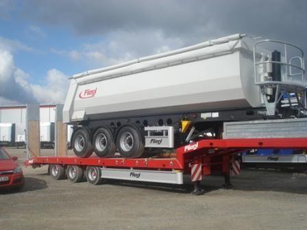 FLIEGL SDS 470 T Tieflader Auflieger