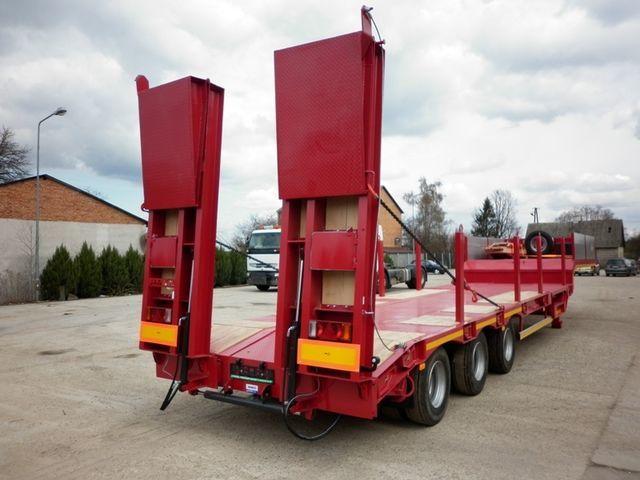 neuer JANMIL  WABCO with ramps 30000 kg  Tieflader Auflieger