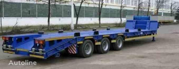 neuer MAZ 997700 Tieflader Auflieger