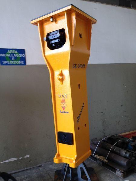 neuer ITALDEM GK 3400S Hydraulikhammer