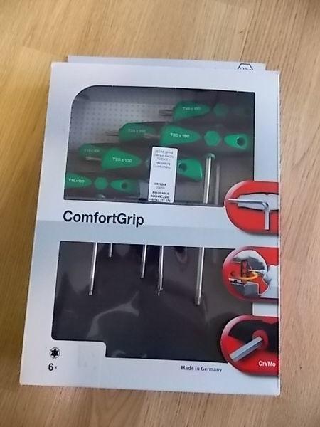 Zestaw kluczy TORX z rękojeścią ComfortGrip. KFZ-Werkzeug
