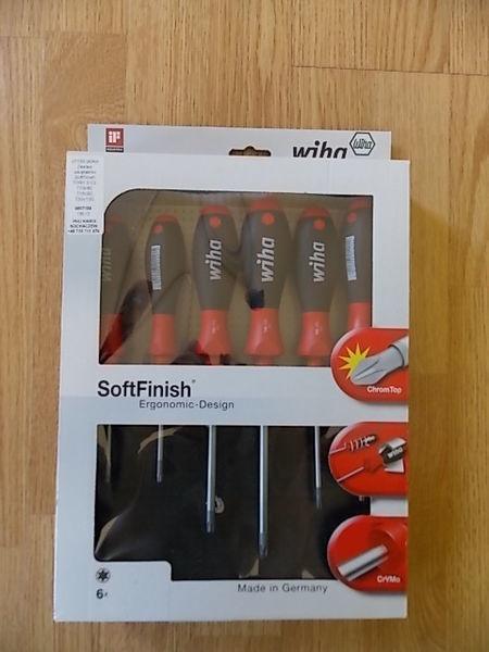 WIHA 07155 Zestaw wkrętaków SoftFinish TORX 6cz KFZ-Werkzeug