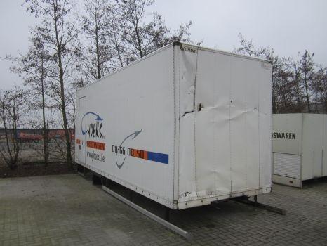 DIVERSE container Kofferaufbau