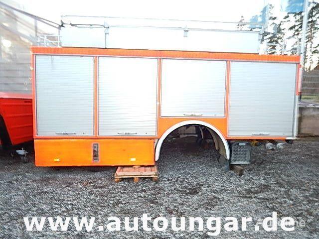 MERCEDES-BENZ Schlingmann Feuerwehr Aufbau m Rosenbauer Pumpe 24/8 Kofferaufbau
