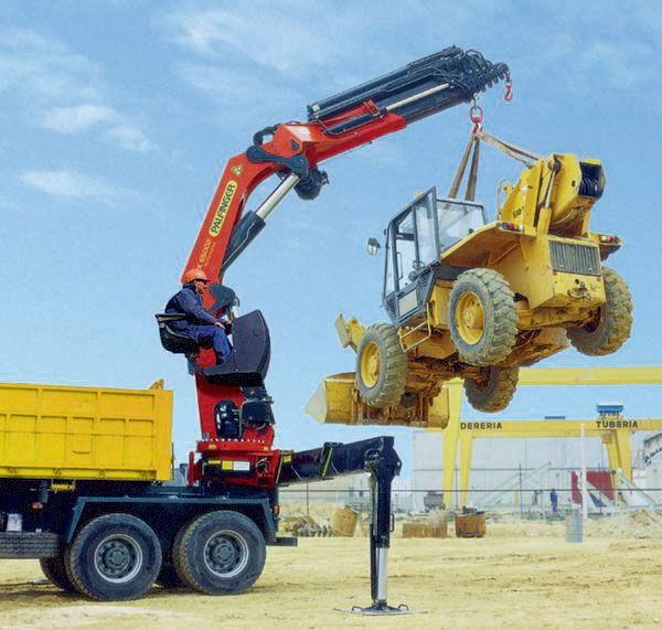 neuer PALFINGER RK 65002-SH serii High Performance Ladekran
