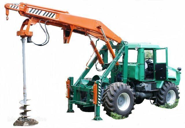 HTZ Burilno-kranovaya mashina BKM-3U na baze traktorov HTZ 150K-09, H Andere Baumaschinen