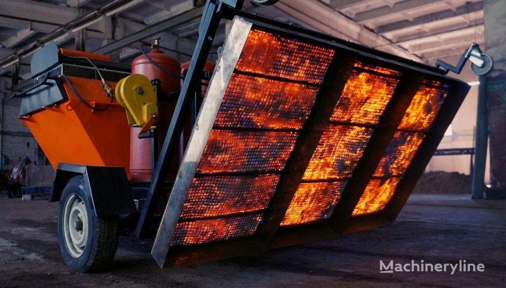 Machine infrared road repair Andere Baumaschinen