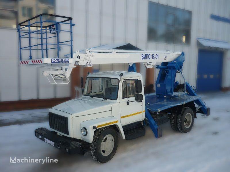 GAZ 3309 Arbeitsbühne-LKW