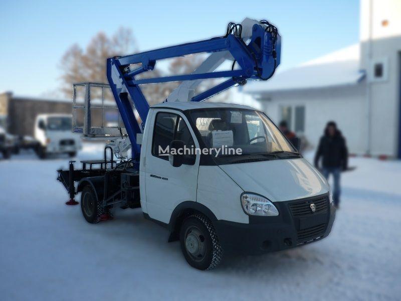 GAZ VIPO-12-01 na bazovom shassi  GAZ-3302 Gazel Arbeitsbühne-LKW
