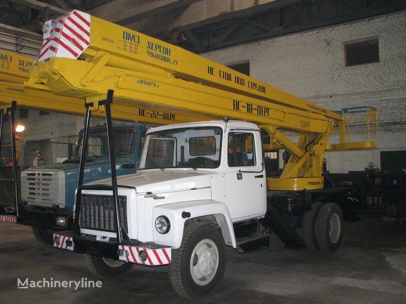 GAZ VS—18-01 RG  Arbeitsbühne-LKW