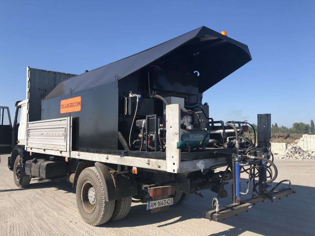 neuer Bitumen distributor BS-7000 Asphaltkocher