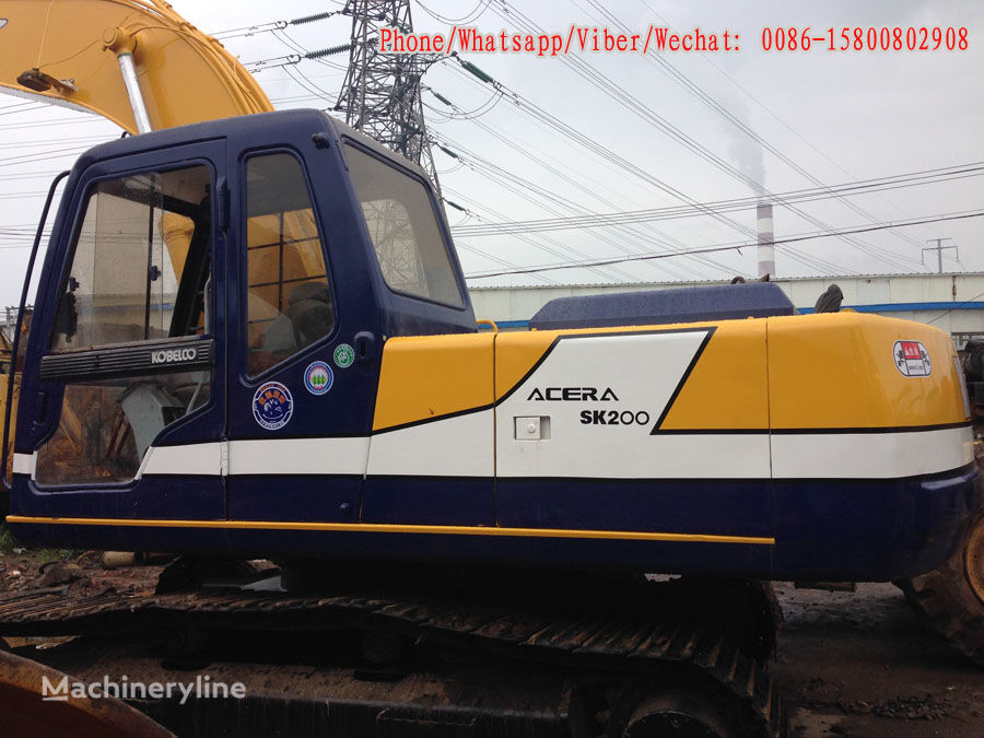 KOBELCO SK200-3 Kettenbagger