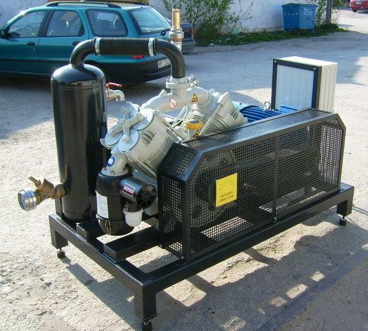 SB1 BETICO z silnikiem elektrycznym Kompressor