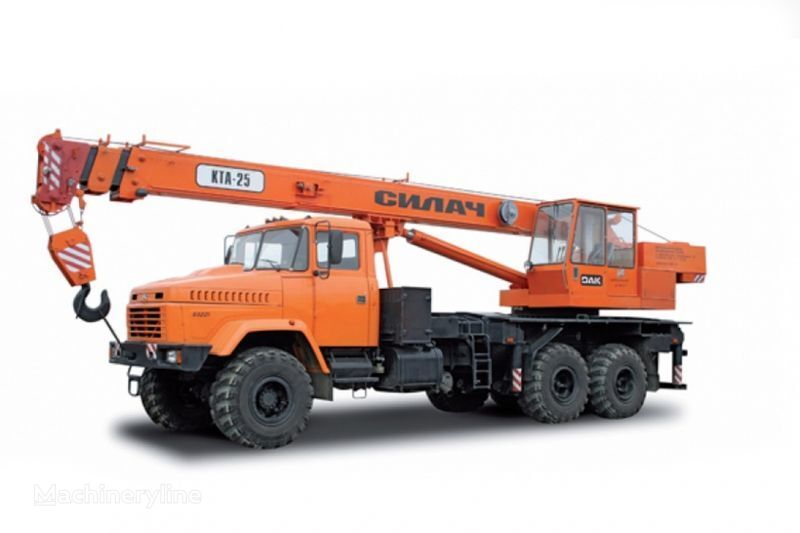 KRAZ 65053 (KTA-25) i KrAZ-63221 (KTA-25) Kranwagen