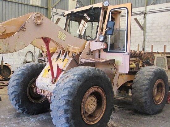 HANOMAG 55C  Radlader für Ersatzteile