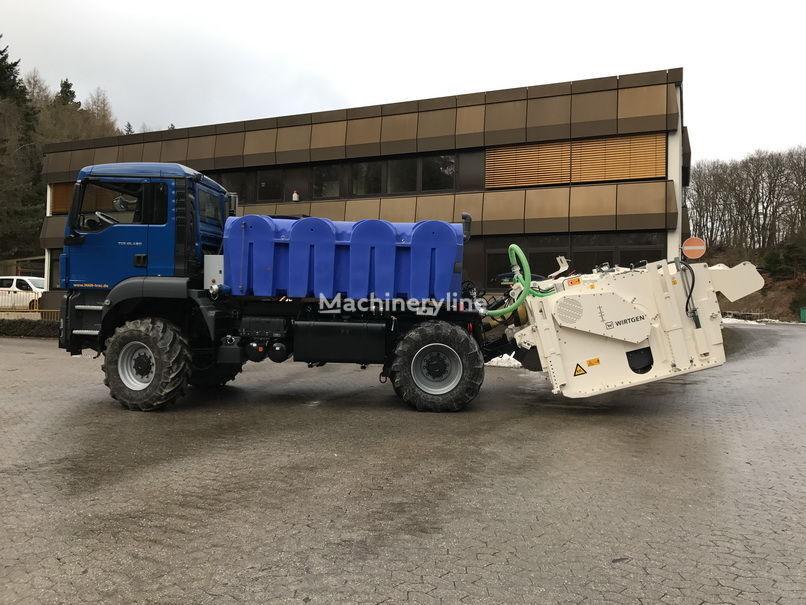 neuer MAN TGS 18.480 mit Wirtgen WS 250 Recycler