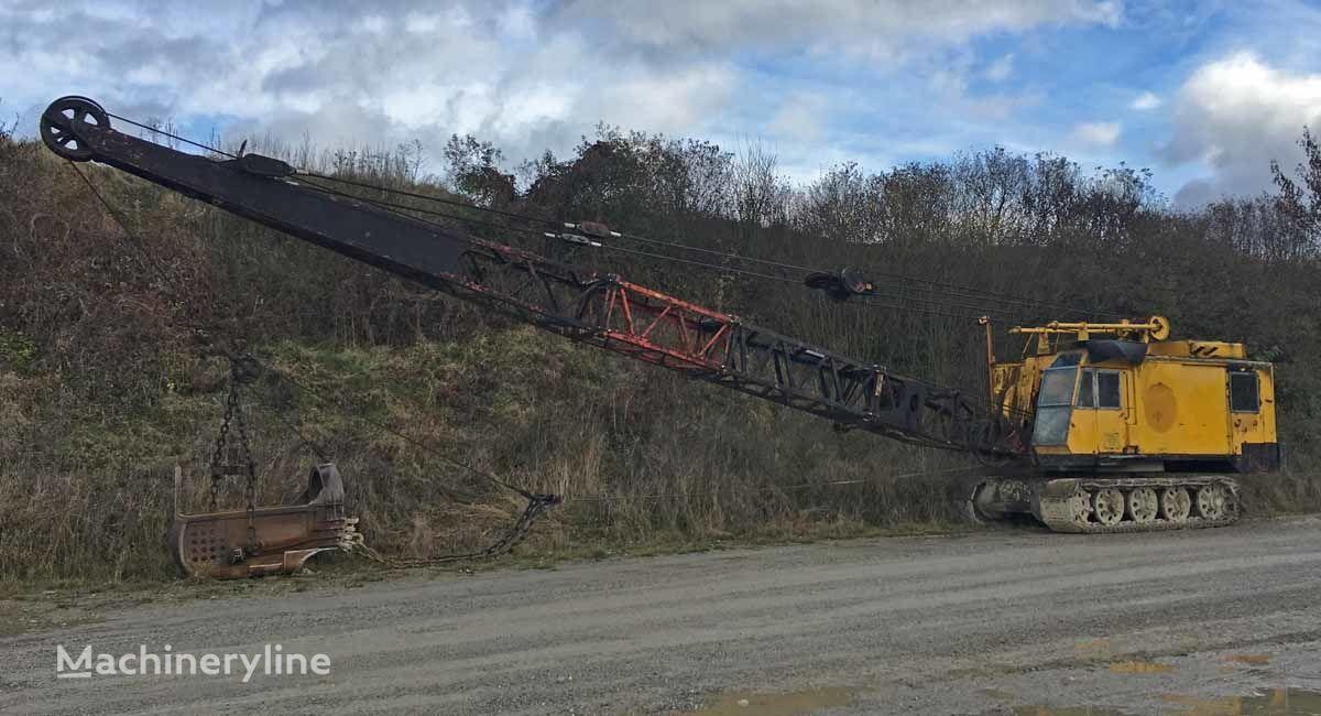 MENCK M154 – Cable excavator / Seilbagger Rohrleger