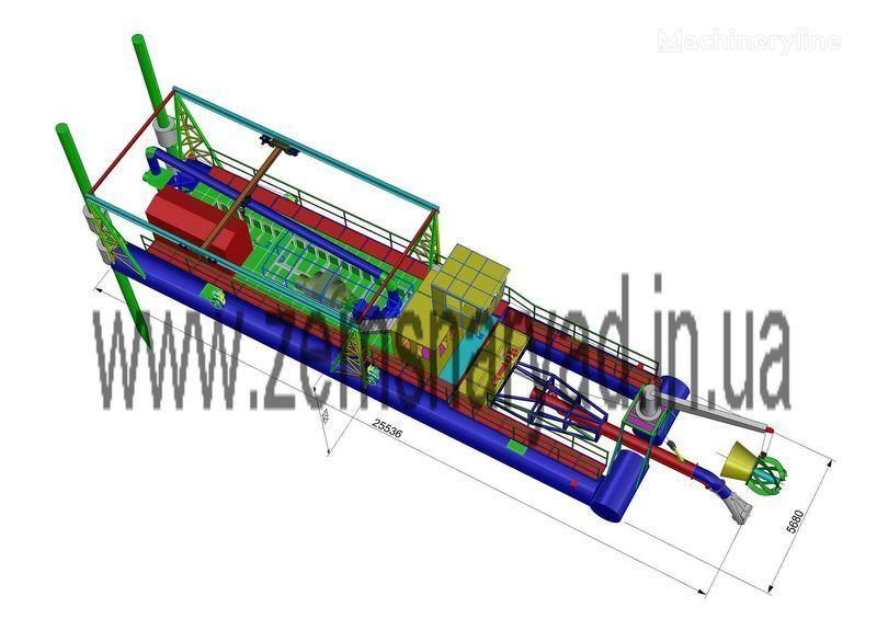 NSS Zemsnaryad NSS 6000/70-F-GR-E Schwimmbagger