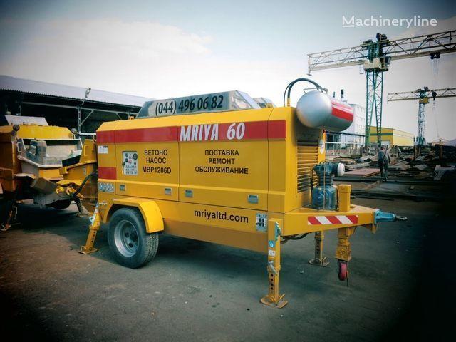 neuer MRIYA MBP 1206D Stationäre Betonpumpe