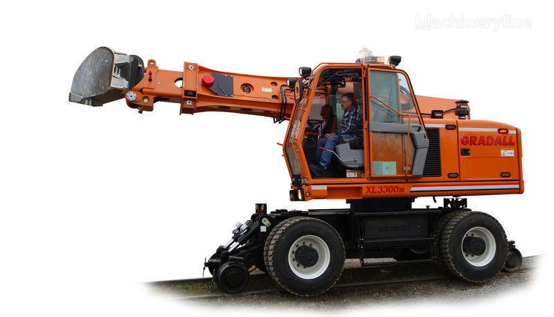 neuer GRADALL XL 3300 Zweiwegebagger