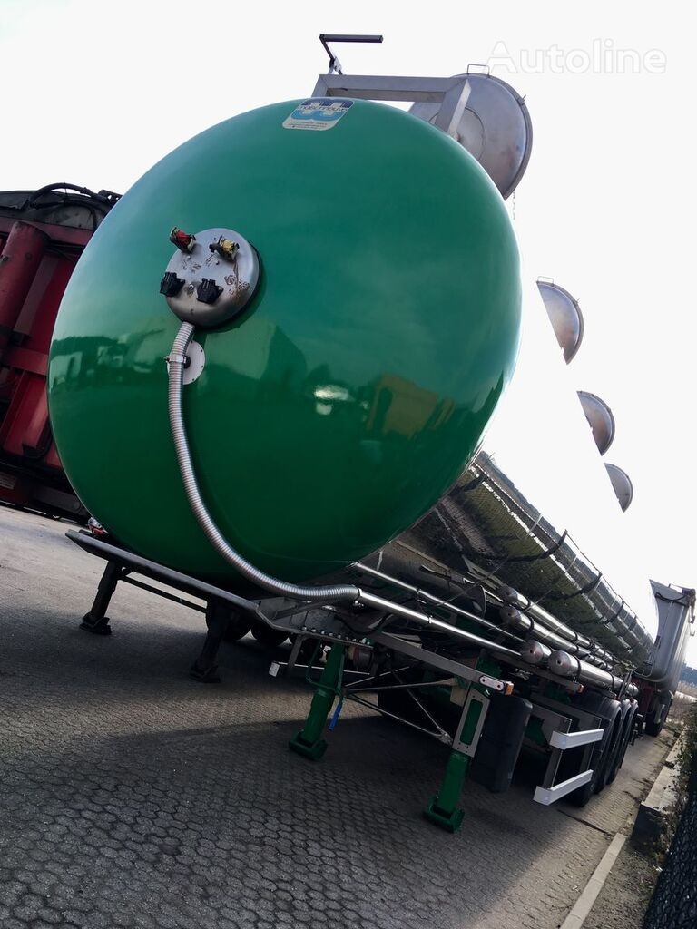 MAISONNEUVE ADR - 3 - 37.500ltr - 4k - 7.140kg Chemie Tankwagen
