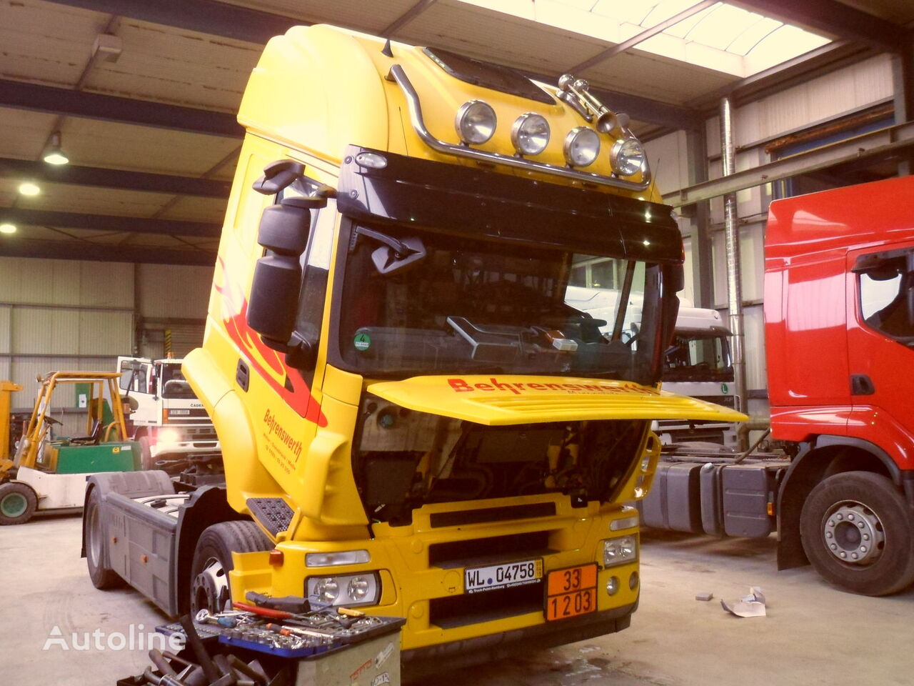 IVECO Achse für IVECO Stralis AT440 S42 LKW