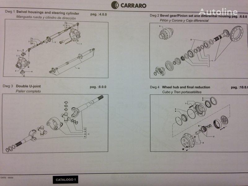 CARRARO Antriebsachse für CATERPILLAR Bagger