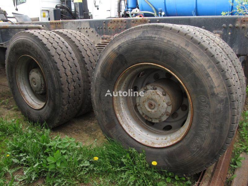 TYLNE MOSTY TANDEM, 2 X REAR DIFFERENTIAL MAN 8X4 8X8 Antriebsachse für MAN 35-414 F2000 8X4 LKW