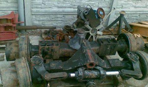 Antriebsachse für ZEPPELIN 13 Bagger