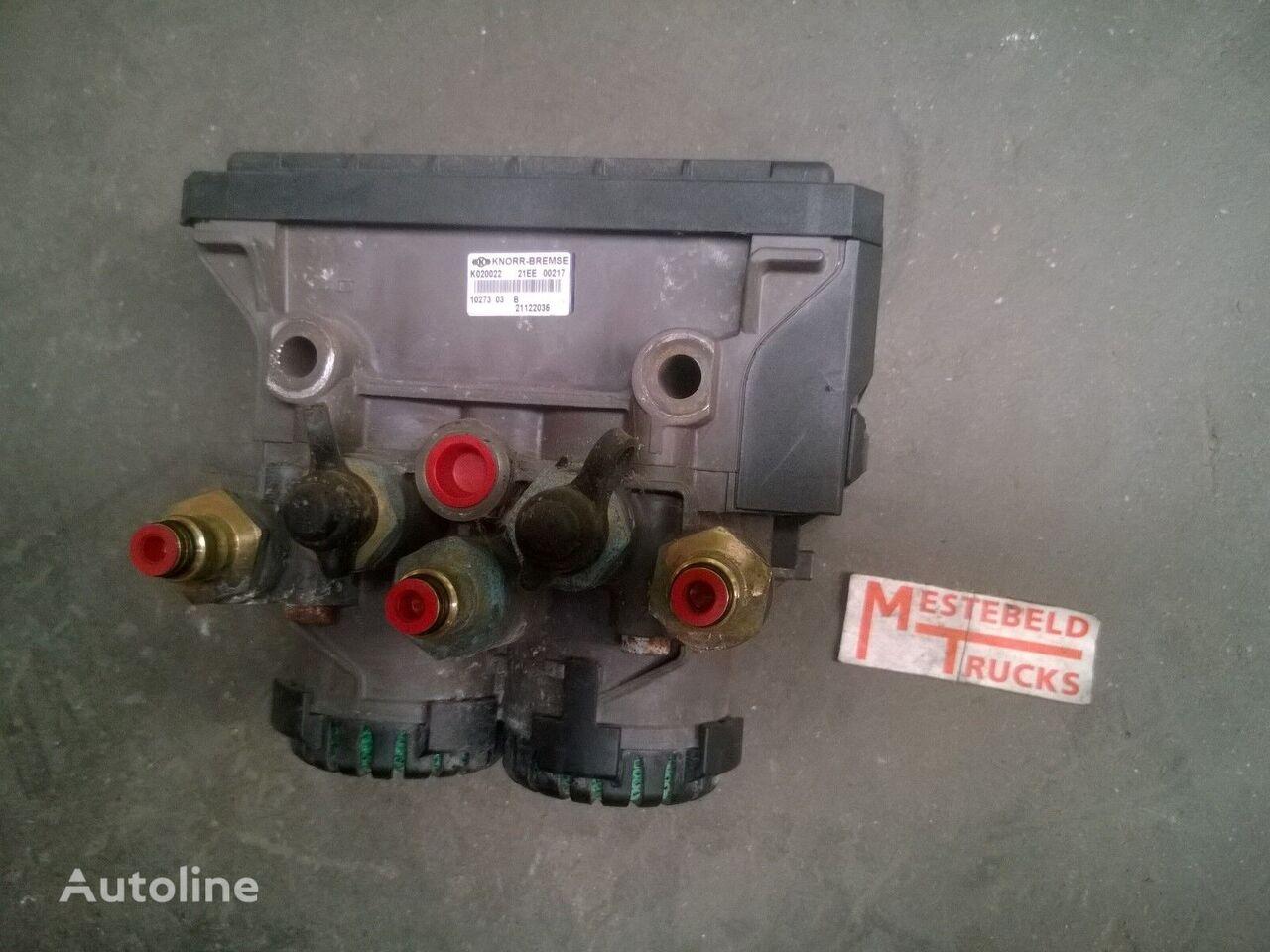 Bremskammer für RENAULT EBS Achterasmodulator LKW