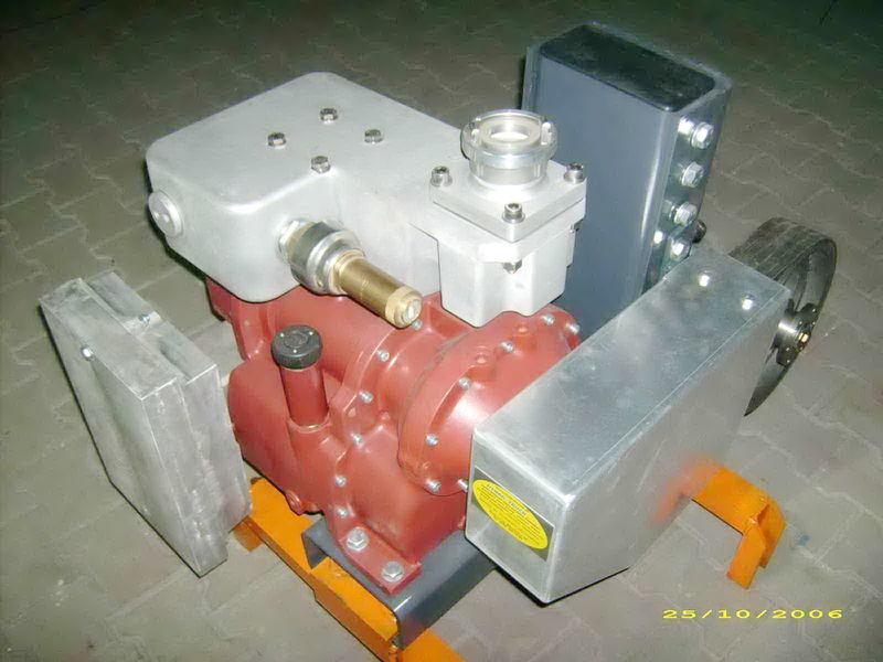 Druckluftkompressor für CG80 GHH RAND Light Tankauflieger