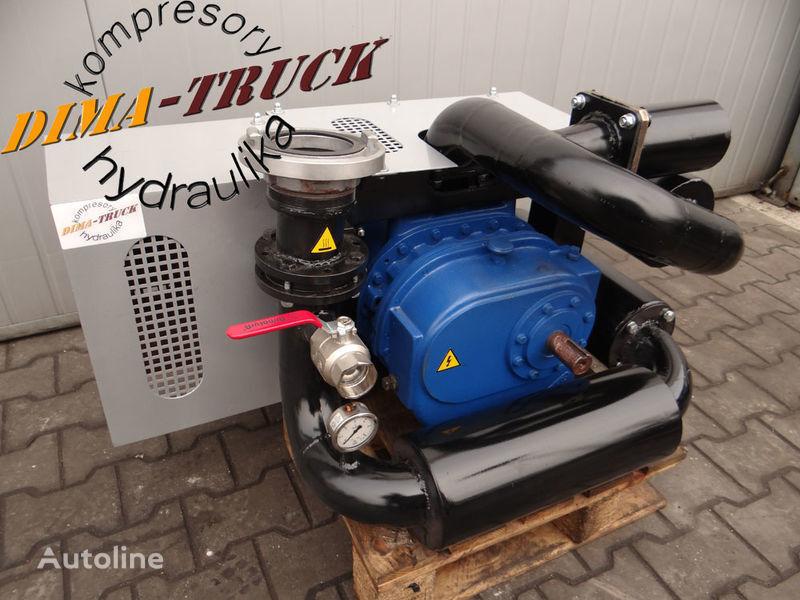 neuer kompresor paszowy paszowóz gardner denver Druckluftkompressor für animal feed compressor LKW