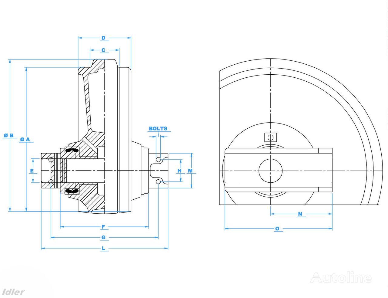 JSB lenivec Ersatzteile für JCB 220 Bagger