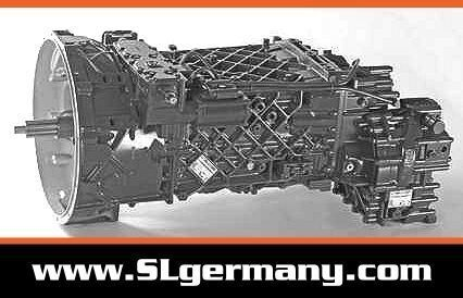 ZF 6 WG 201, 6 WG 260, 6 WG 210, 16 AS 2601 Getriebe für Kranwagen