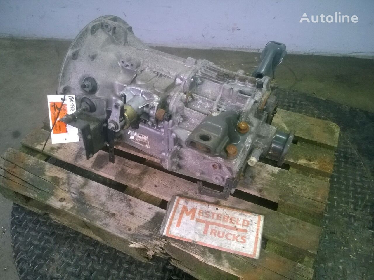 G-60-6 Getriebe für MERCEDES-BENZ Versnellingsbak G-60-6 Sattelzugmaschine