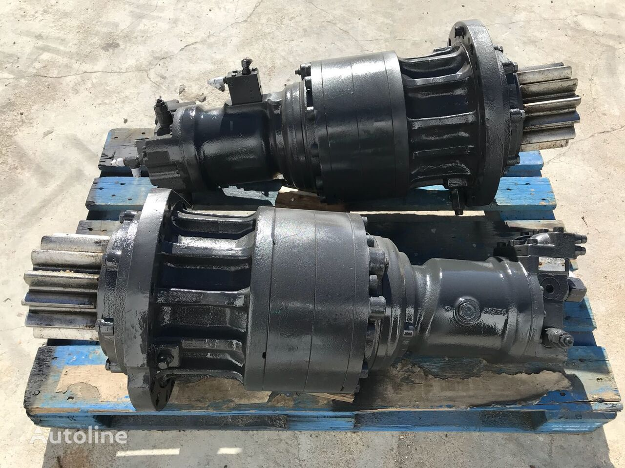 Kawasaki Hydraulikmotor für Bagger