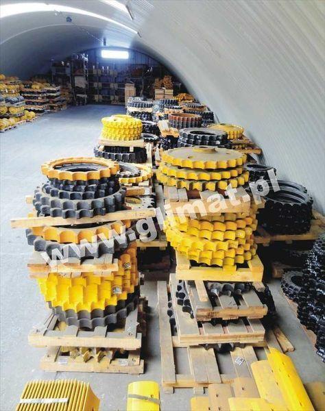 neuer Kettenrad für HANOMAG D600 Baumaschinen