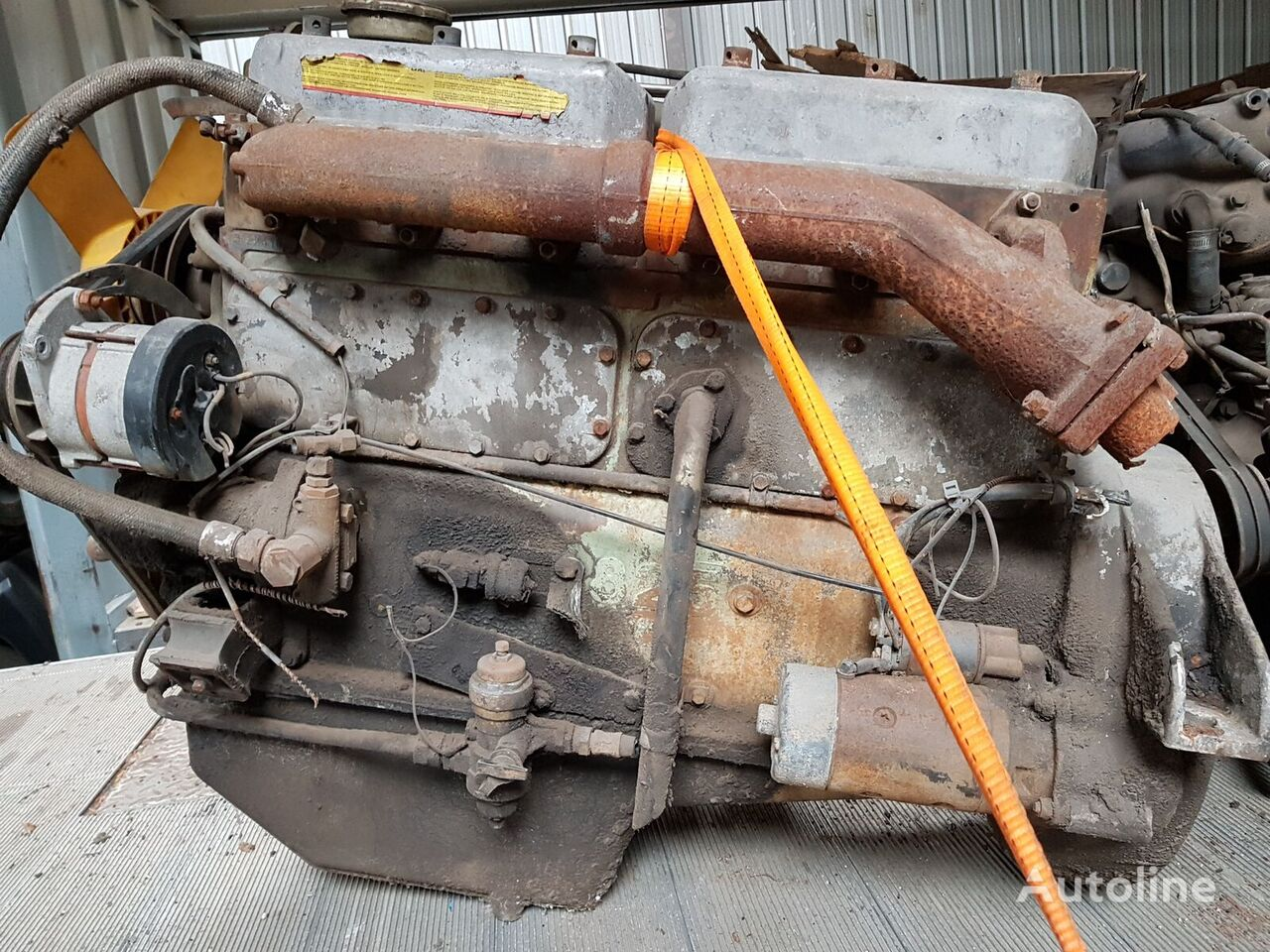 DAF DH825 Mechanic Pump Motor für CUMMINS DH825 Bus