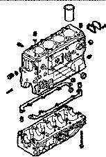 neuer IVECO BLOQUE DAILY 8140,43 N Motorblock für IVECO 35S15 Kleintransporter