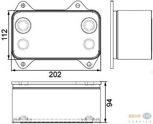 neuer DAF 1667565.8MO376733421 Motorkühler für DAF XF.CF Sattelzugmaschine